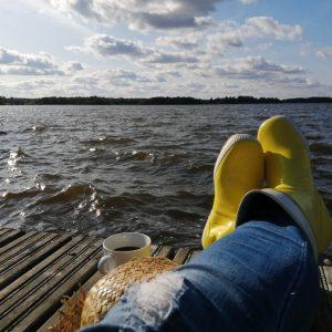 Katajistonranta rantalaituri Vanajavesi Mielensäpahoittaja festivaalit