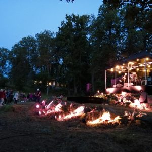 Katajistonranta puistoalue tapahtumapaikka Mielensäpahoitta festivaalit Aulangolla Hämeenlinnassa