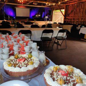 Lätohäät Katajistonranta Tapahtumalato kakkubuffet